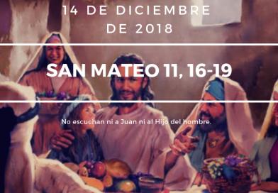 Lecturas 14 de diciembre
