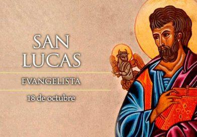 Hoy la Iglesia celebra la fiesta de San Lucas, Evangelista