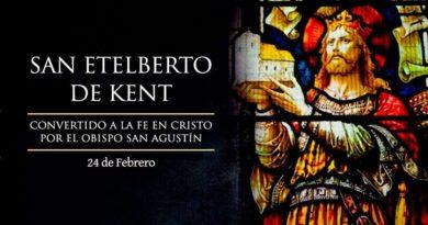 Hoy se conmemora a San Etelberto de Kent, rey católico de Inglaterra