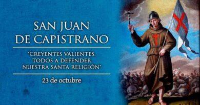 San Juan de Capistrano, religioso y predicador franciscano