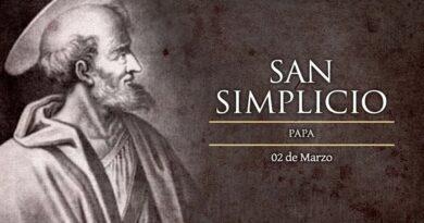 San Simplicio, Papa defensor de la doctrina católica