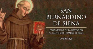 San Bernardino de Siena, propagador del amor al Nombre de Jesús