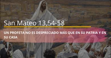 Lecturas 30 de Julio